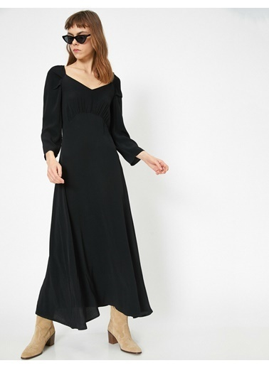 Koton Elbise Siyah